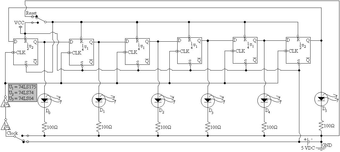 Sv7857858g 6 diagram 5 schematic of assembled ring counter ccuart Image collections